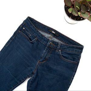 else Dark Wash Skinny Blue Jeans